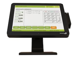 Logic Controls 15 True-Flat Zero Bezel Touch Monitor, Resistive Touch, USB, LE1015, 30922268, POS/Kiosk Systems