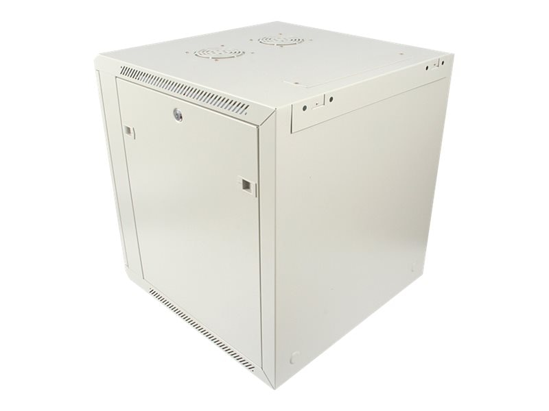 StarTech.com 12U 19 Wall Mounted Server Rack Cabinet, RK1219WALL