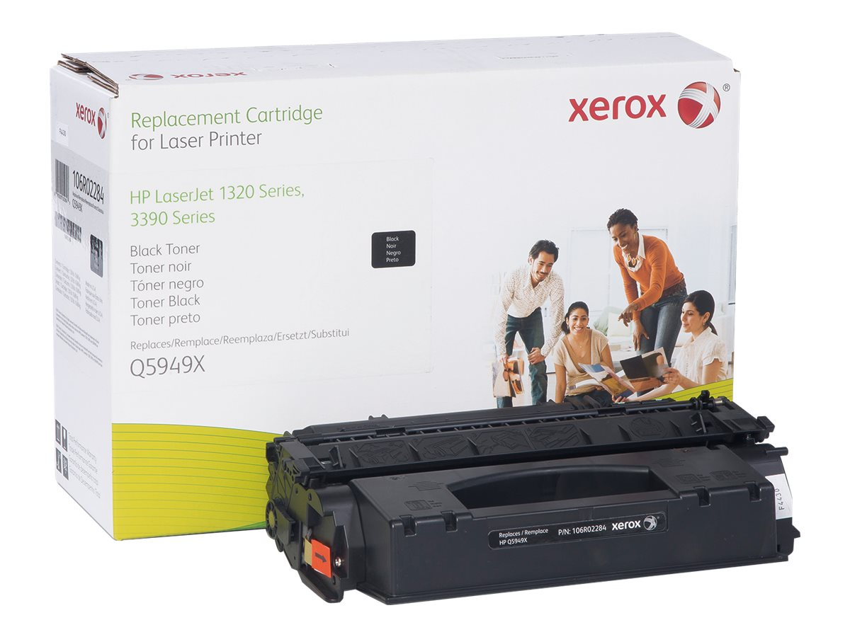 Xerox Q5949X Black Toner Cartridge for HP LaserJet 1320, 3390 & 3392 Series, 106R02284