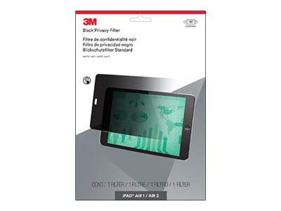 3M Privacy Filter For iPad Air 1 Air 2, Landscape, PFTAP002