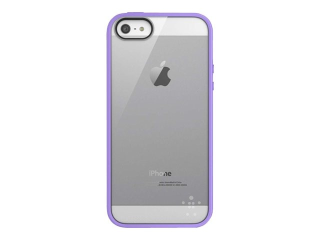 Belkin View Case for iPhone 5 5s, Clear Volta, F8W153TTC06, 14861004, Carrying Cases - Phones/PDAs