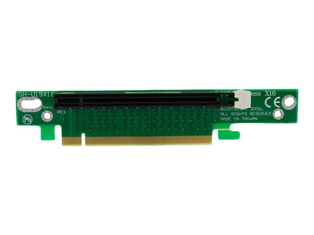 StarTech.com PCI Express Riser Card x16 Left Slot Adapter for 1U 2U Servers, PEX16RISER