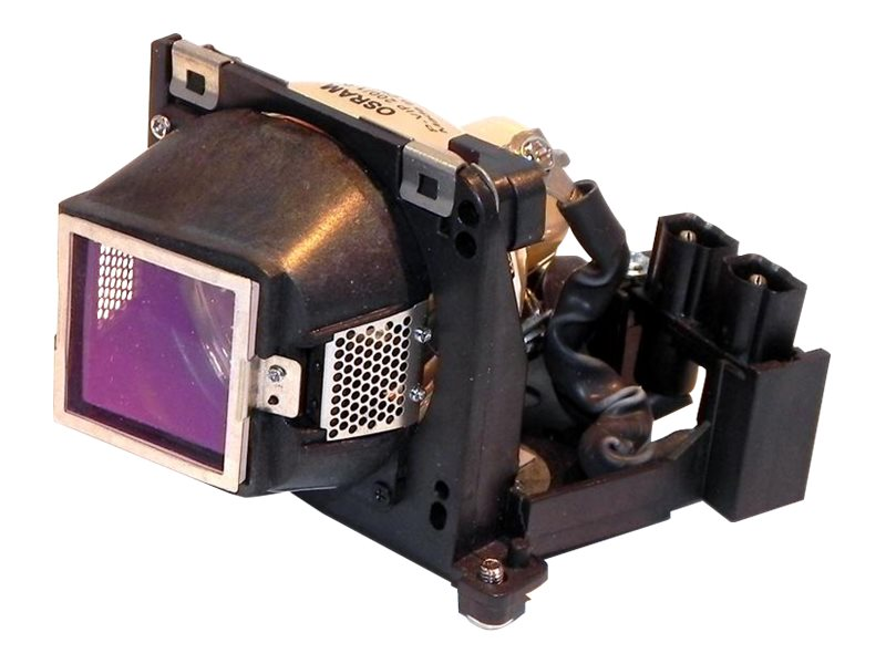 Ereplacements Replacement Lamp for Dell 1200MP, 1201MP; Acer PD115, PD123P, PH112, 310-7522-OEM, 22999628, Projector Lamps