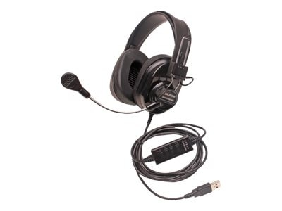 3066AVT Deluxe Stereo Headset w  Mic, 3066-BKT, 18587014, Headsets (w/ microphone)