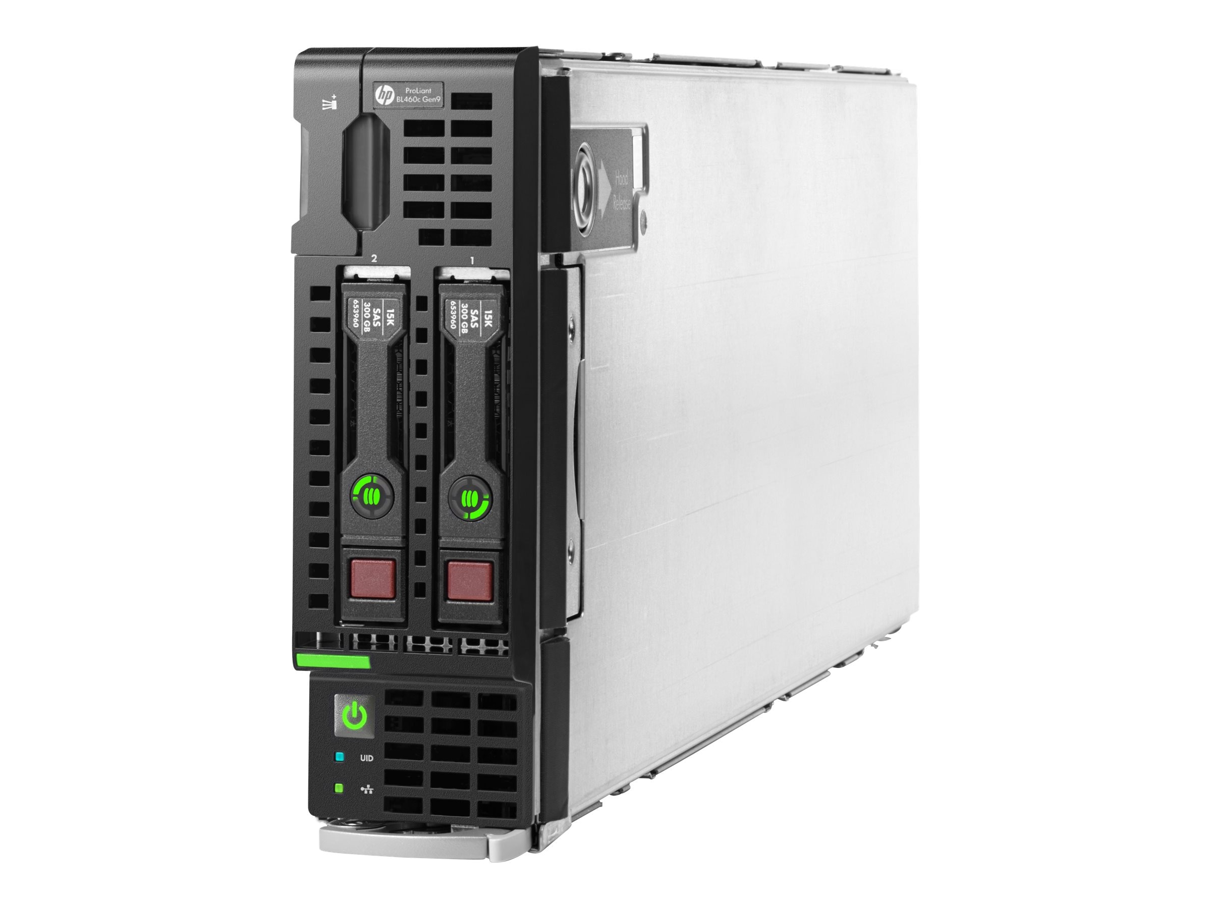 HPE Smart Buy ProLiant BL460c Gen9 Intel 2.6GHz Xeon Xeon, 727030-B21, 17799509, Servers - Blade