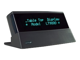 Logic Controls Tabletop 9.5mm Display, USB Port Power, Logic Controls Command Set, Gray, LTX9000UP-GY, 18181452, POS Pole Displays