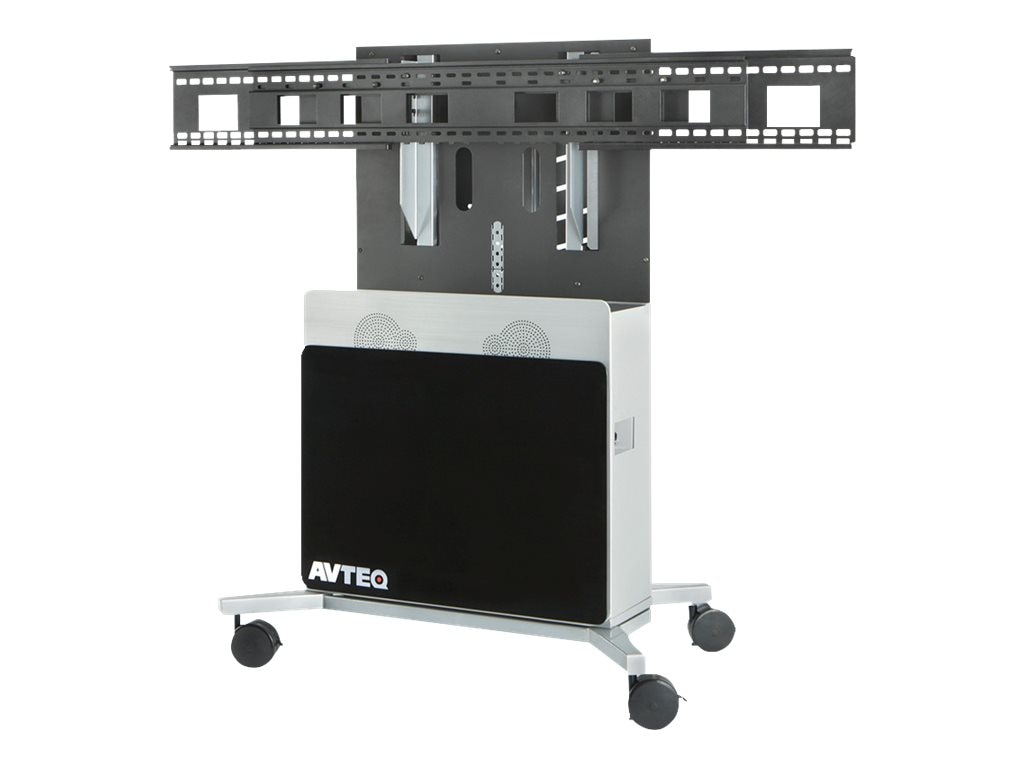 Avteq Elite Technology Stand for Displays up to 80, ELT--2100S-B