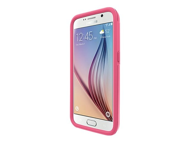 OtterBox MySymmetry Series Crystal for Samsung Galaxy S6, Sorbet, 77-51656, 21486652, Carrying Cases - Phones/PDAs