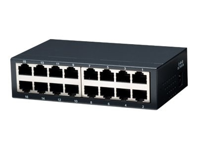 Intellinet 16-Port Ethernet Switch, 522595