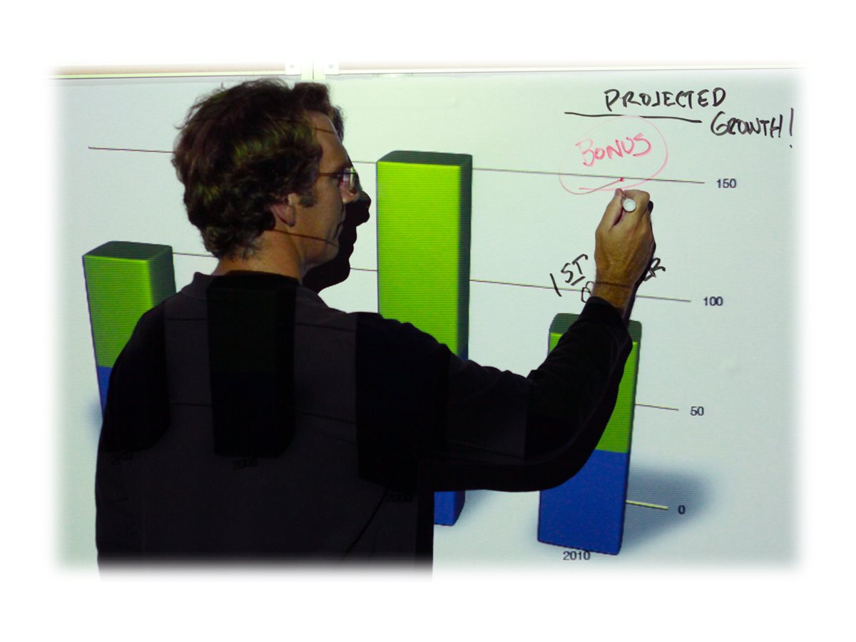 Elite 58 WhiteBoard Screen with Magnet