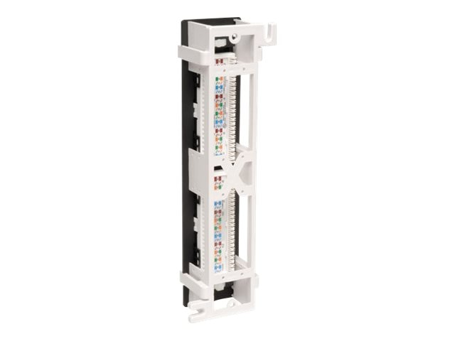 Tripp Lite 12-Port Cat6 Wall-Mount Patch Panel 568B, N250-012