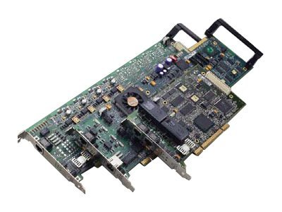 Dialogic TruFax 200E, 2-Channel Loop Start, Half-Size PCIe, 901-013-10, 8113860, Fax Servers