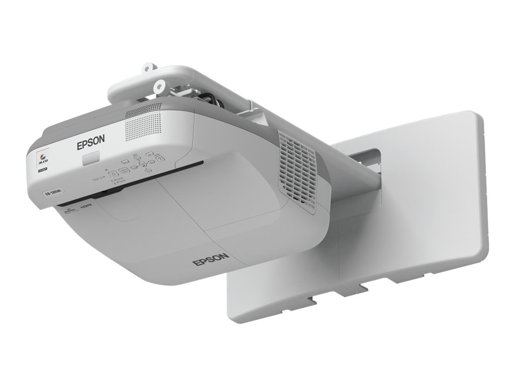 Epson BrightLink 595Wi Interactive WXGA 3LCD Projector, 3300 Lumens, White