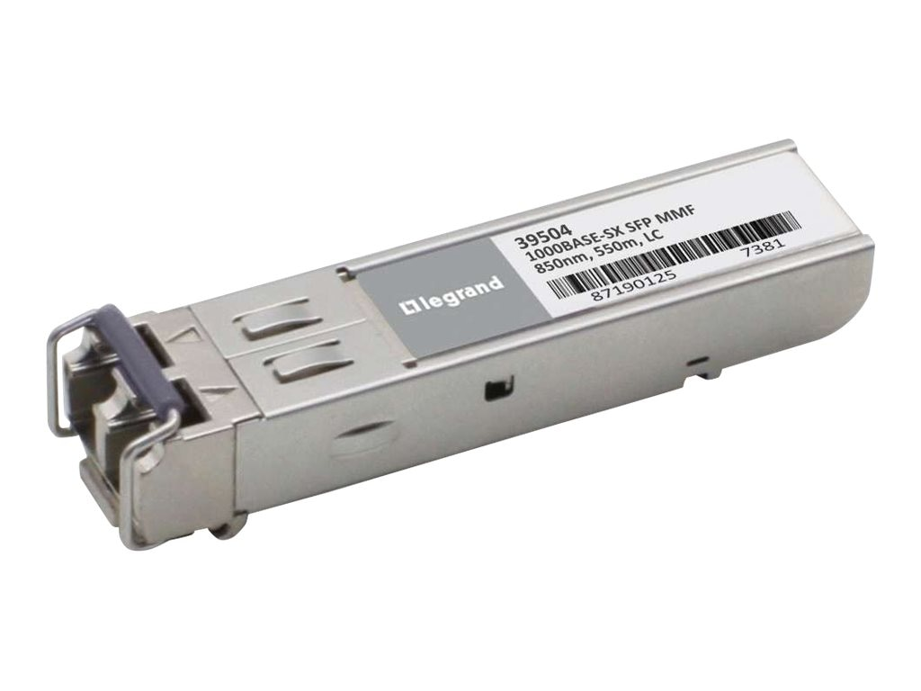 C2G Cisco ONS-SI-GE-SX 1000Base-SX MMF SFP (Mini-GBIC) Transceiver, 39495, 30704341, Network Transceivers