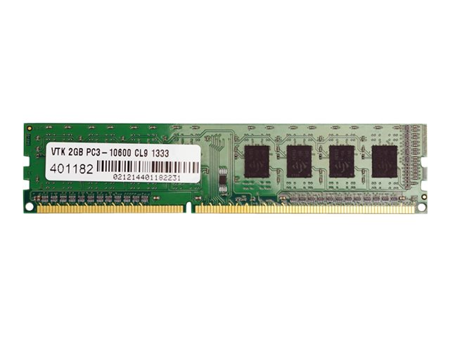 VisionTek 2GB PC3-10600 240-pin DDR3 SDRAM DIMM, 900378