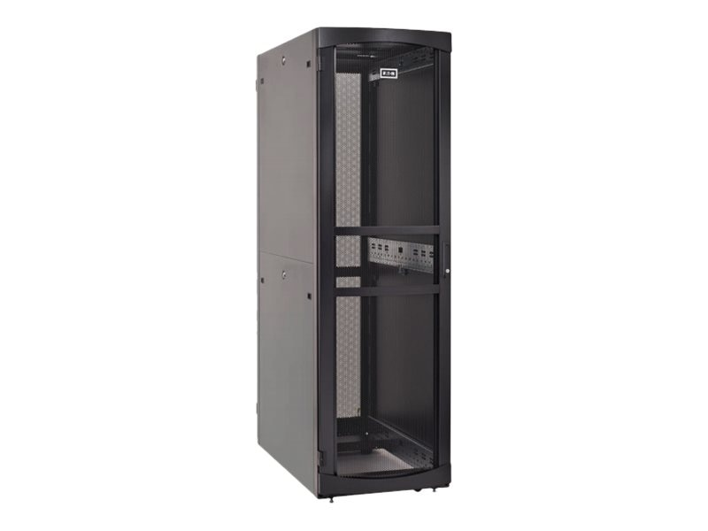 Eaton RS Server Enclosure w  Sides, 45U x 800mm x 1200mm, Black, RSV4582B