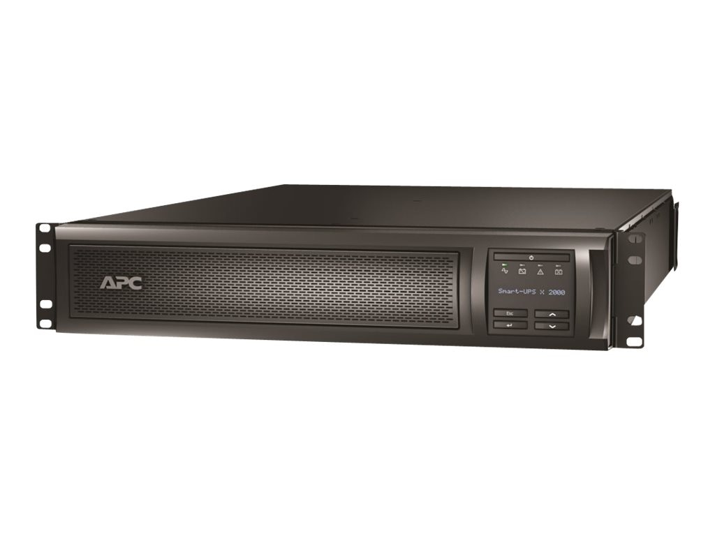 APC Smart-UPS X 2000VA Rack Tower 100-127V NEMA 5-20P (7) Outlets with Network Card, SMX2000RMLV2UNC, 12920998, Battery Backup/UPS