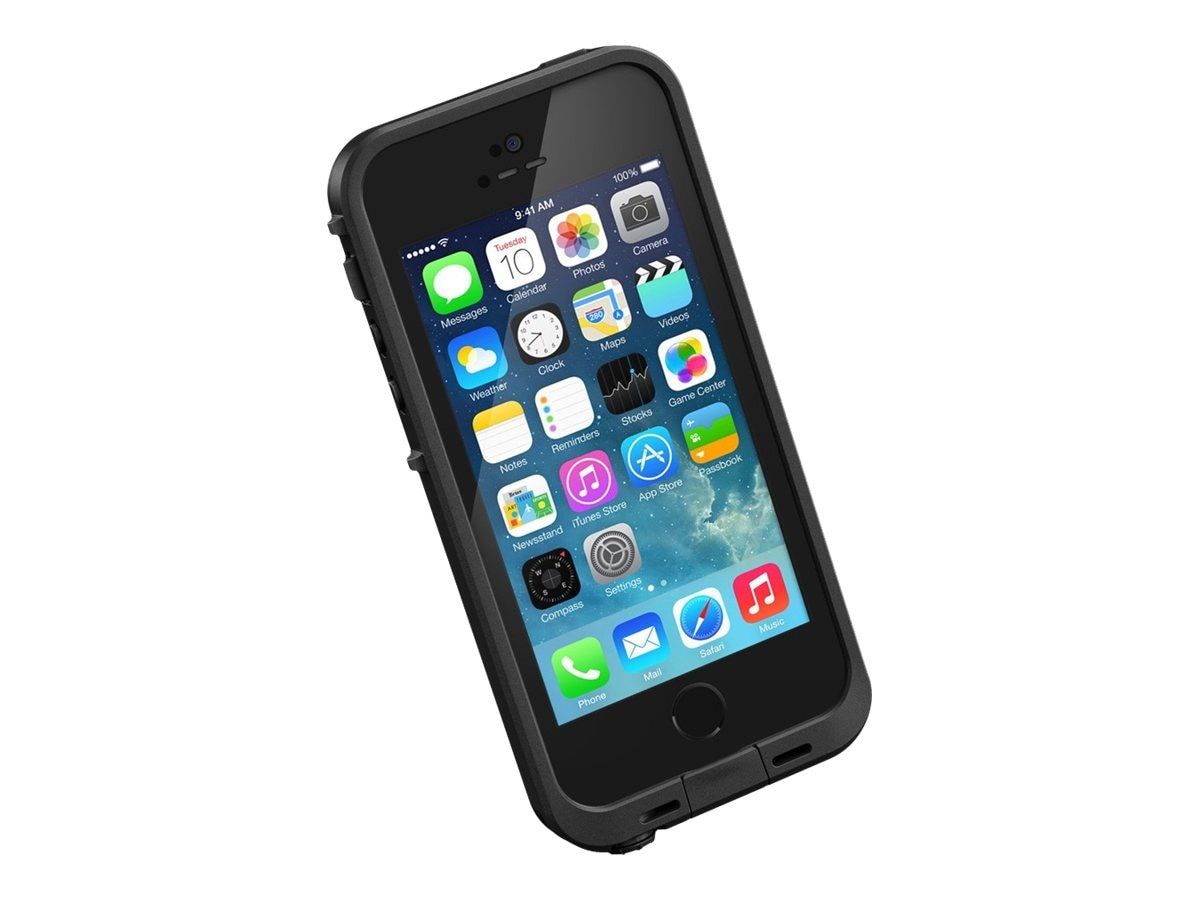 Lifeproof fre Case for iPhone 5S, Black, 2115-01, 18621884, Carrying Cases - Phones/PDAs