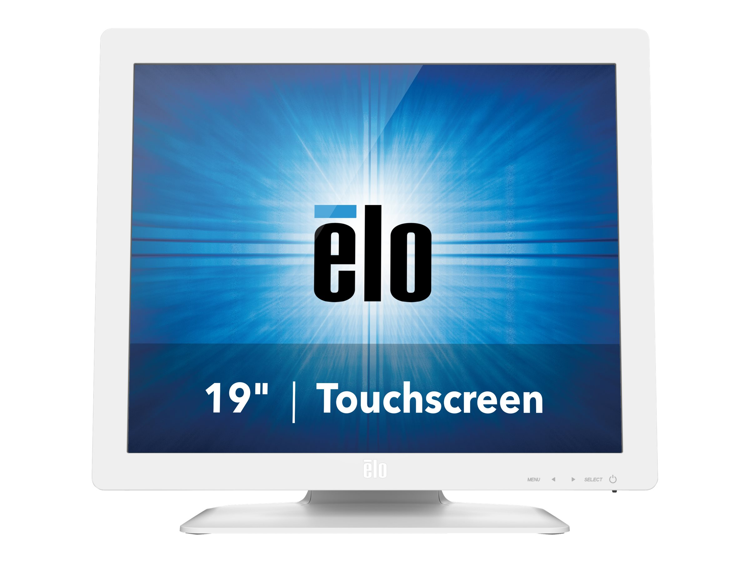 ELO Touch Solutions 19 1929LM LED-LCD AccuTouch Touchscreen Monitor, White