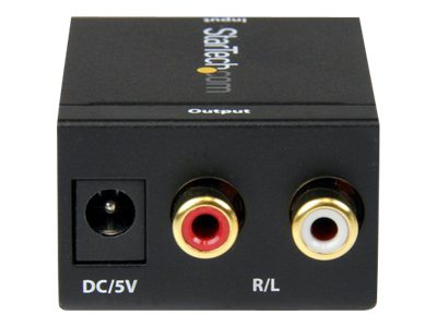 StarTech.com SPDIF Digital Coaxial or Toslink to Stereo RCA Audio Converter, SPDIF2AA