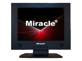 Miracle Business 12.1 LT12B Analog LCD Monitor Black, LT12B, 6588327, Monitors