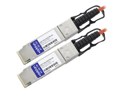 ACP-EP QSFP+ to QSFP+ Direct Attach Cable, MSA Compliant, 75m, QSFP-56G-AOC75M-AO, 18662109, Cables
