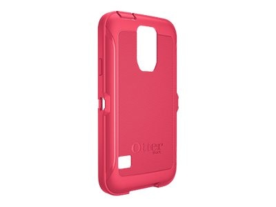 OtterBox Defender Series Slip Cover for Samsung Galaxy S5, Blaze Pink, 78-42327, 18622537, Carrying Cases - Phones/PDAs
