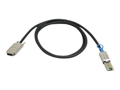 Addonics External Mini SAS to Infiniband Multilane Cable, 1.5m, Black, AAMSIB150, 15932679, Cables