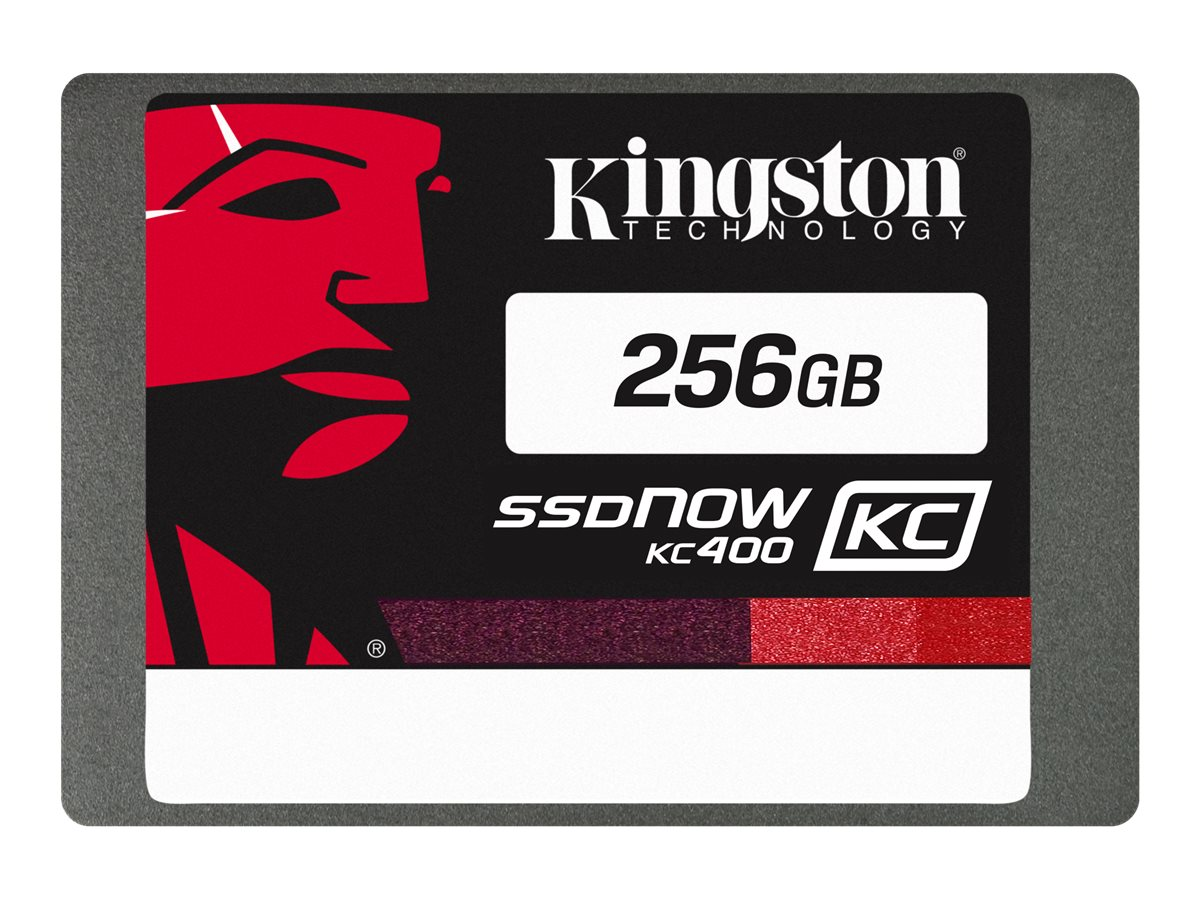 Kingston 256GB SSDNow KC400 SATA 6Gb s 2.5 7mm Internal Solid State Drive