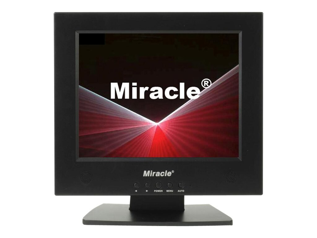 Miracle Business 10 LT10BV LCD Monitor with Speakers, Black, LT10BV, 11937552, Monitors - LCD