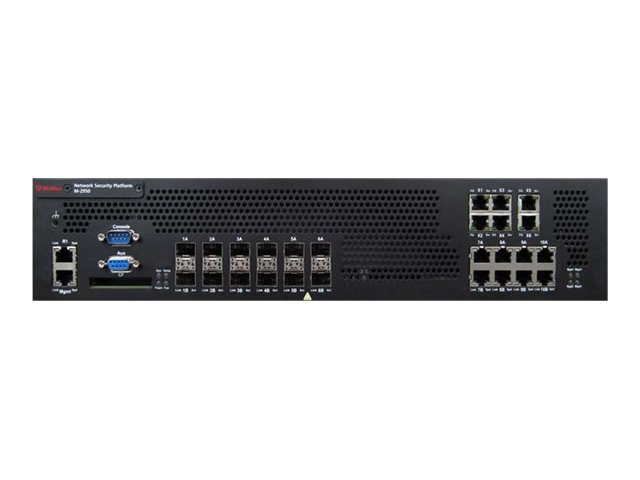 McAfee M-2850 Network Security Platform FO HW 1+, IFO-M28K-ISAA, 31940943, Network Firewall/VPN - Hardware
