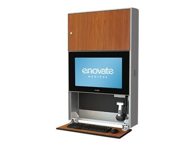Enovate E750 Lite Wall Station, Wild Cherry