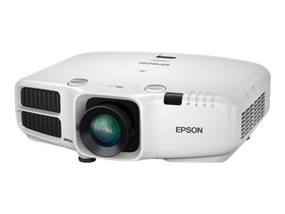 Epson PowerLite Pro G6450WU WUXGA 3LCD Projector, 4500 Lumens, White with Standard Lens, V11H535020, 16113501, Projectors
