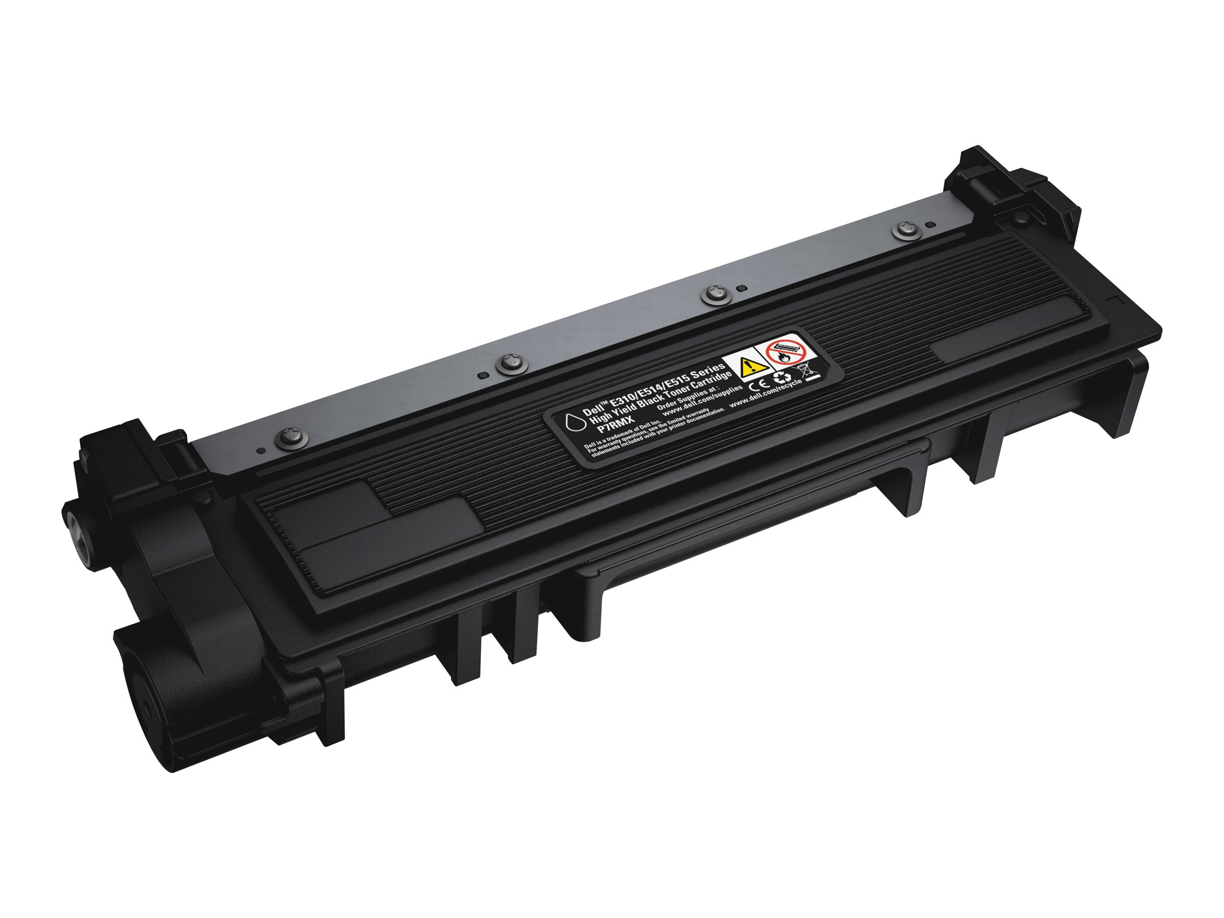 Dell 2600 Page Black High Yield Toner Cartridge for Dell E310dw, E514dw, 515dn & E515dn Printer(593-BBKD)