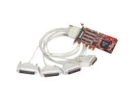 Comtrol RocketPort PCI Express 4-Port DB25M RS232 422 485 Express Quad, 30127-1, 8161706, Remote Access Hardware
