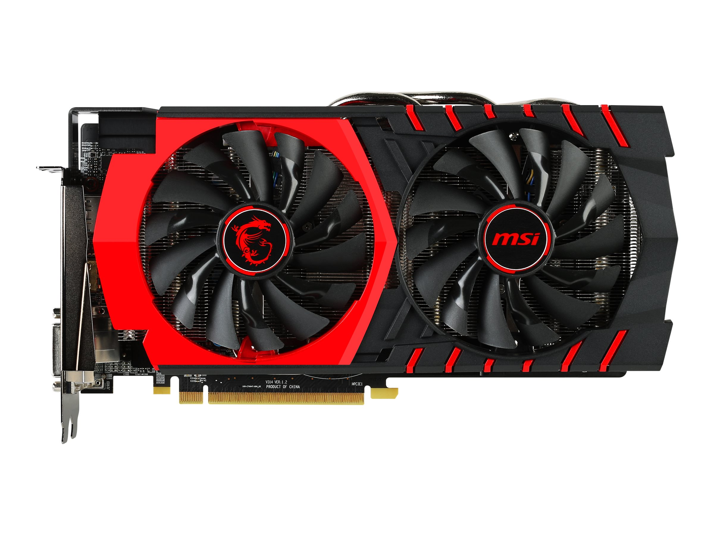 Microstar Radeon R9 380 PCIe Graphics Card, 4GB GDDR5, R9 380 GAMING 4G, 23306150, Graphics/Video Accelerators