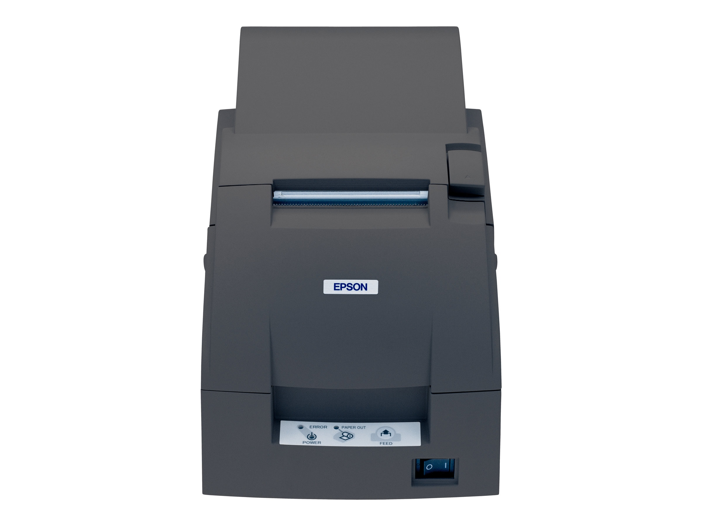 Open Box Epson TM-U220-701 E03 Edge Ethernet Printer w  PS180 Adapter, Take-up Reel & Auto-Cutter