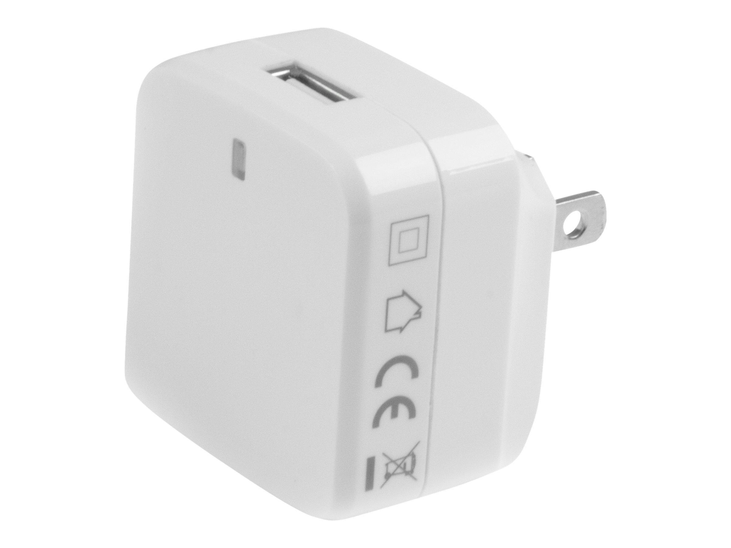 StarTech.com USB Wall Charger w  Quick Charge 2.0 for International Travel, White