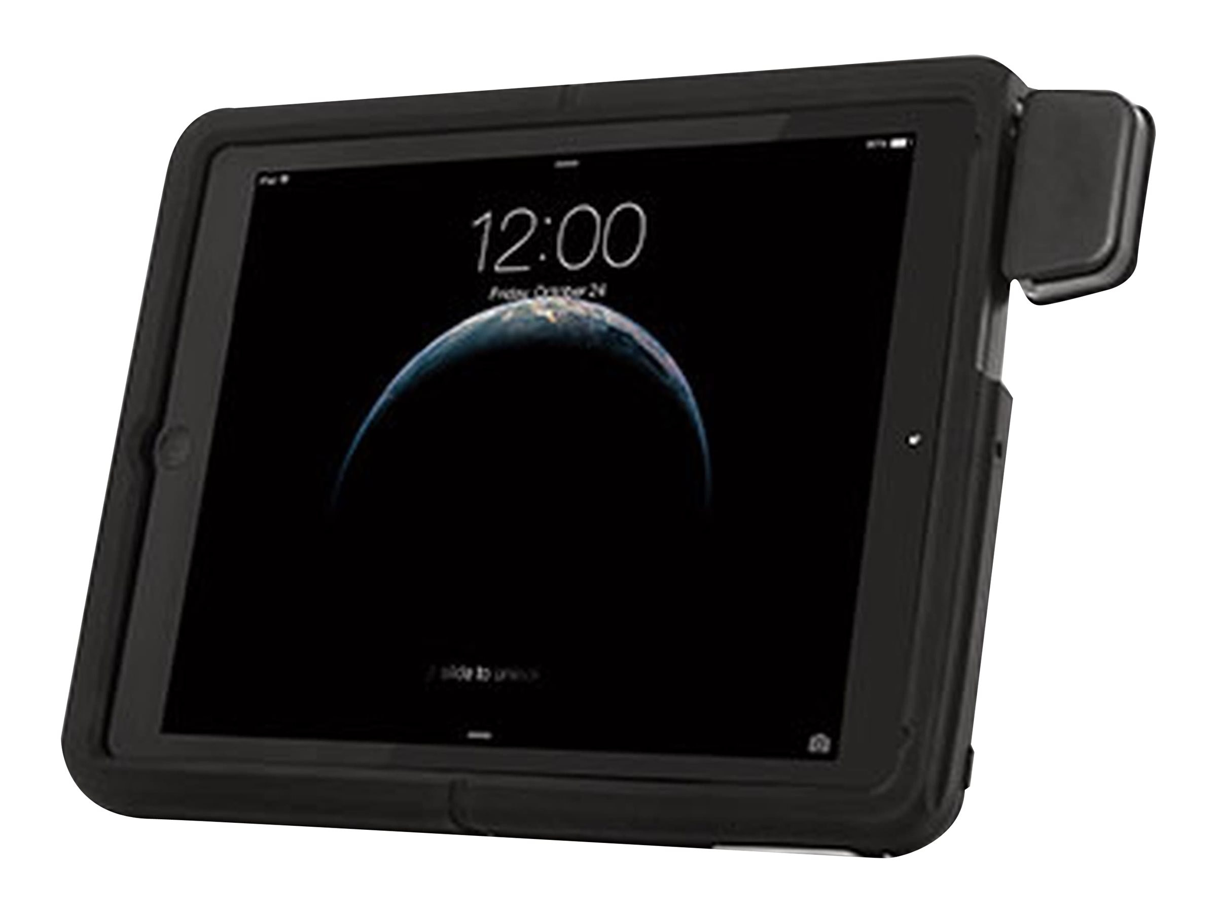 Kensington SecureBack Rugged Carry Case for iPad Air iPad Air 2, Black, K97908WW