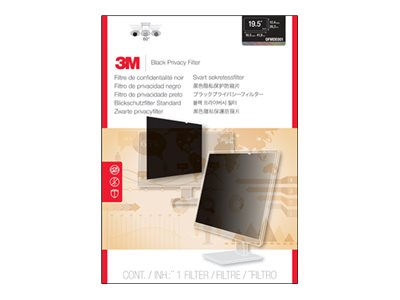 3M 19.5 16:9 Monitor Privacy Filter for Dell