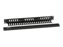 Black Box Rackmount Cable Raceway, Double-Sided, 19 Horizontal, 1U, RMT101A-R3, 13739470, Rack Cable Management