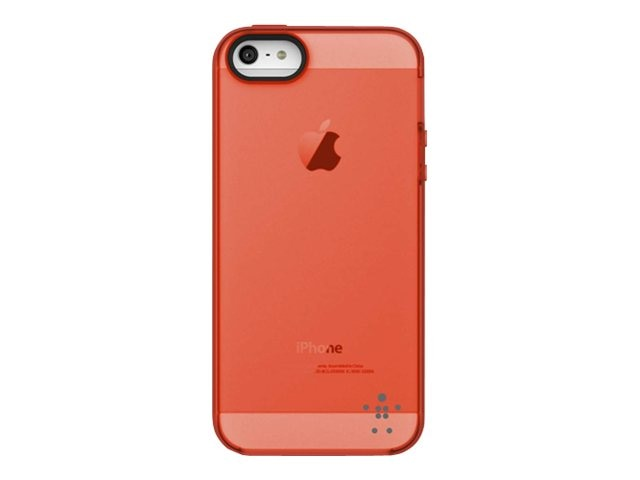 Belkin Grip Candy Sheer Case, Gravel Hazard for iPhone 5, F8W138TTC04, 14860845, Carrying Cases - Phones/PDAs