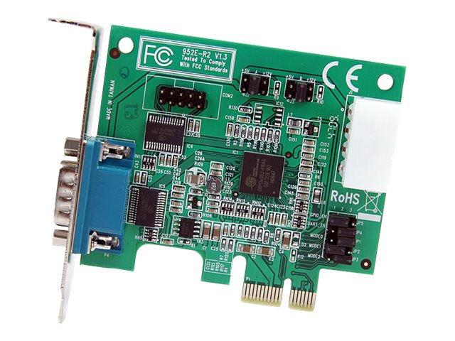 StarTech.com 2Pt. LP PCIe Serial Adapter Card, PEX2S952LP