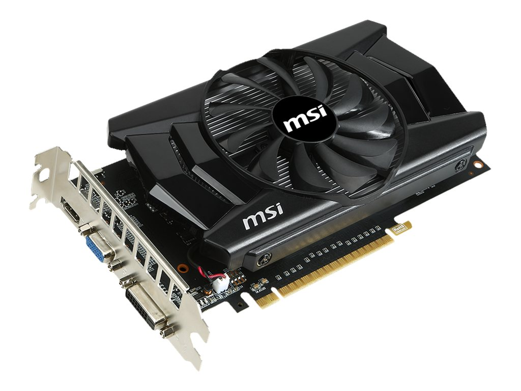 Microstar NVIDIA GeForce GTX 750 Ti PCIe 3.0 x16 Overclocked Graphics Card, 2GB GDDR5, N750TI-2GD5/OC, 16952911, Graphics/Video Accelerators