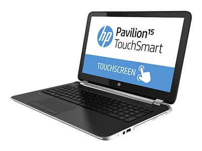 HP Pavilion Touchsmart 15-N277nr : 2.0GHz A6 Series 15.6in display, F4G18UA#ABA, 16578595, Notebooks