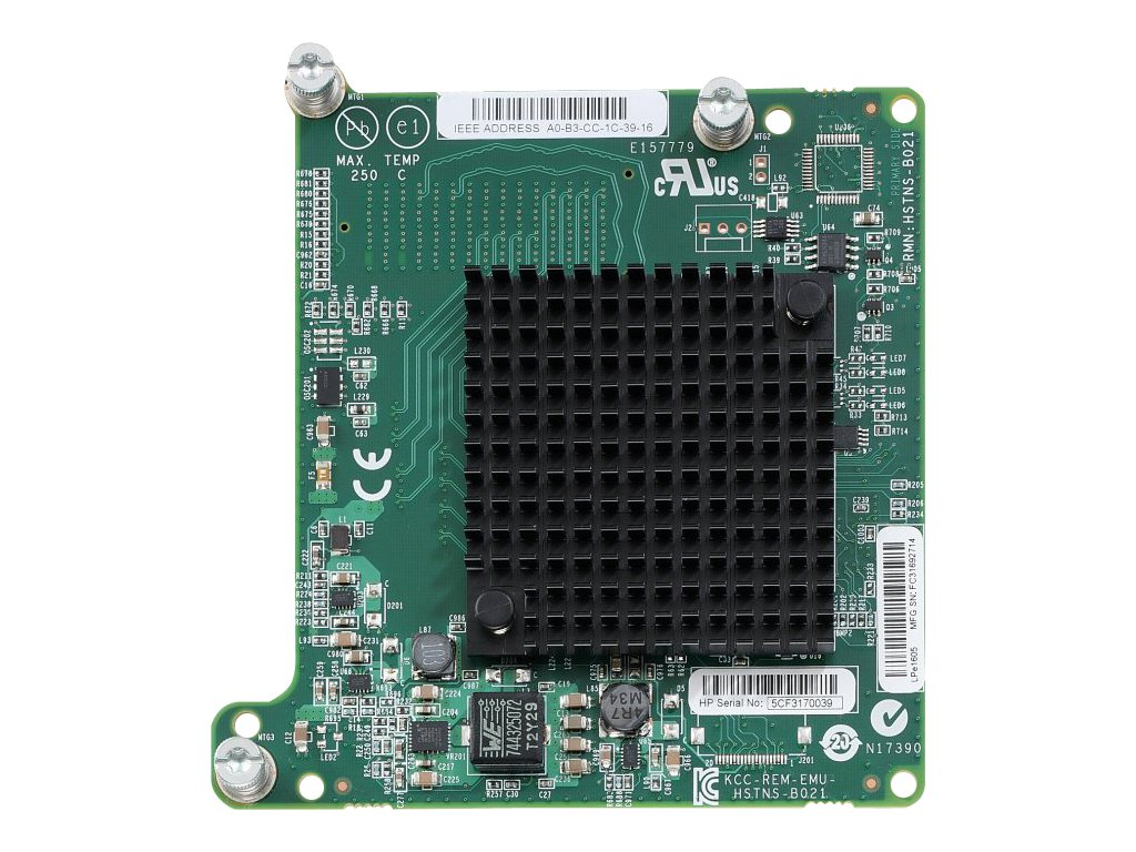 HPE LPe1605 16Gb Fibre Channel HBA for BladeSystem c-Class, 718203-B21, 16883400, Host Bus Adapters (HBAs)