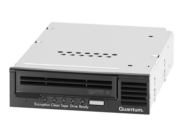 Quantum LTO-5 Model C SAS 6GB s 5.25 Half Height Bare Tape Drive Internal Option for 1U Rack - Black, TC-L52GN-BR-C, 17350200, Tape Drives