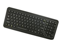 iKEY Sealed Keyboard with Red LED Backlight, Numeric Pad, USB Cable