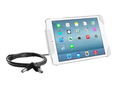 Tryten Lock & Stand, Cable Lock, (2) Keys, Case for iPad mini, White, T2406W