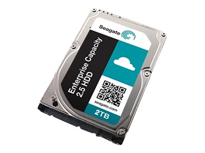 Seagate 2TB Enterprise Capacity SAS 12Gb s 4K Native SED 2.5 15mm Z-Height Nearline Hard Drive